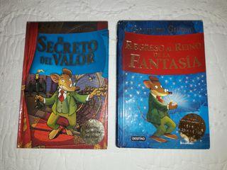 2 Libros de Gerónimo Stilton