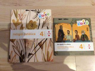 Pack libros religión cuarto primaria