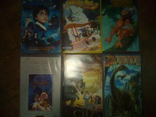 Películas VHS familiares
