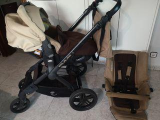 carrito de bebé MUUM JANÉ +( silla para coche)