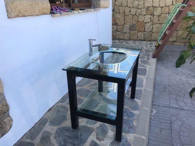 Lavabo de cristal