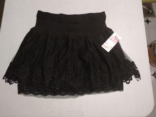 472b19b61 Falda de tul negra de segunda mano en Madrid en WALLAPOP