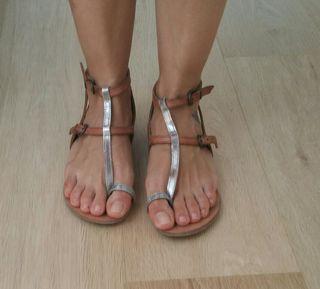 sandalias romanas hakei talla 36