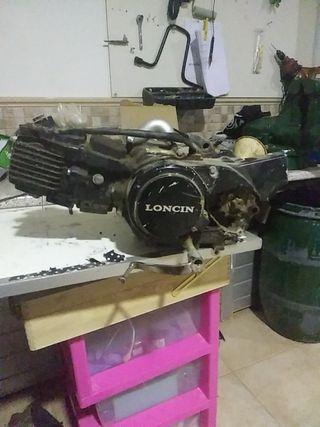 Motor pit bike 125cc
