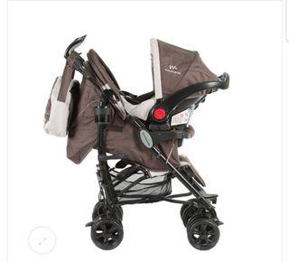 Carro de bebé Kitana Dúo
