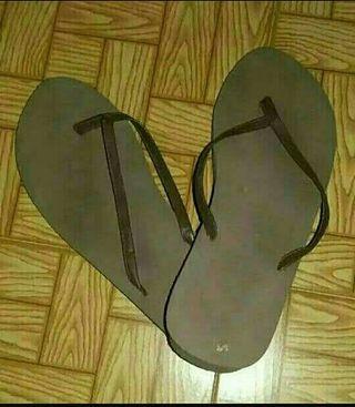 Sandalias marrones cuña