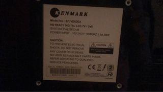 tv dvd 22LVD02D2 kenmark