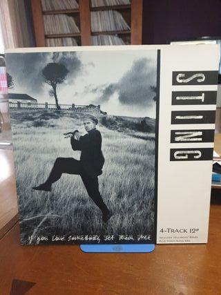 disco vinilo Sting if you love somebody them free