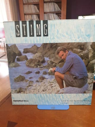 disco vinilo Sting love is the seventh Wave 85
