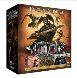 juego de mesa Mage knight ultimate ed.