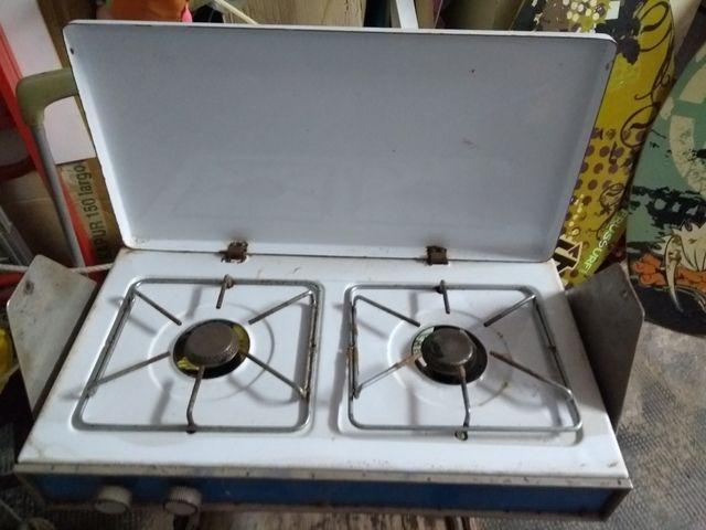 Cocina dos fuegos a gas de segunda mano por 15 € en ...