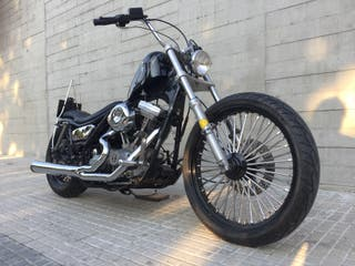 Harley Davidson FXR Superglide 1992 by Free Kustom
