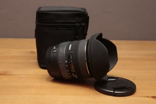 Objetivo Sigma 10-20mm para Canon