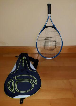 Raqueta de tenis y funda. Perfecto estado