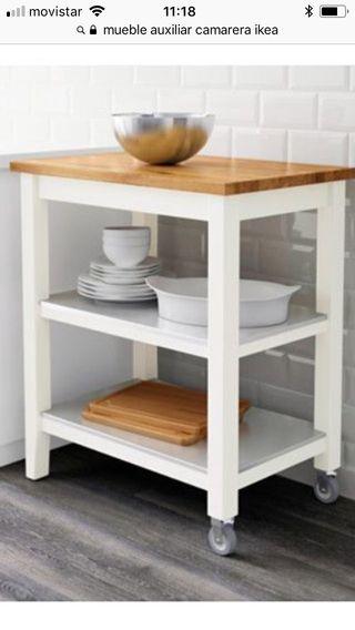 Mesa Auxiliar Cocina Ikea Carritos de cocina camareras e ...