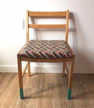 Conjunto de sillas años 70