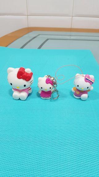 Hello Kitty ( 3 Muñecos)