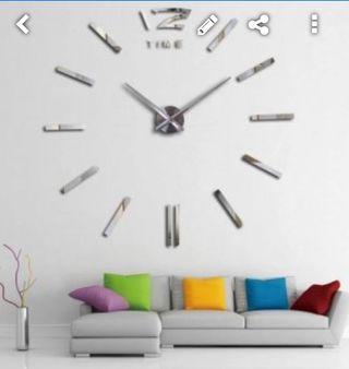 Reloj Gigante Pared 130 Cms Modelo 2019