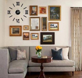 Reloj Gigante Números Romanos A ESTRENAR