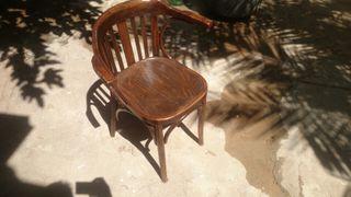 silla de oficina, antigua