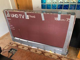 Televisor LG 75 Pulgadas UK6500PLA NUEVO!!