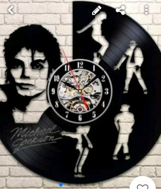Reloj Gigante MICHAEL JACKSON A ESTRENAR