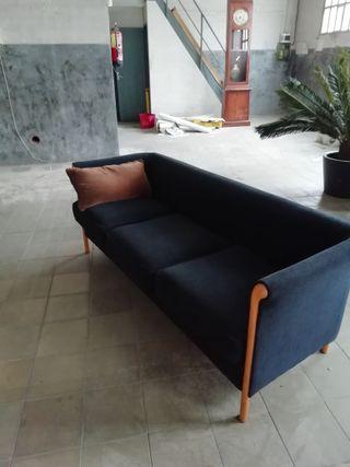 Sofá chester de 3 plazas.