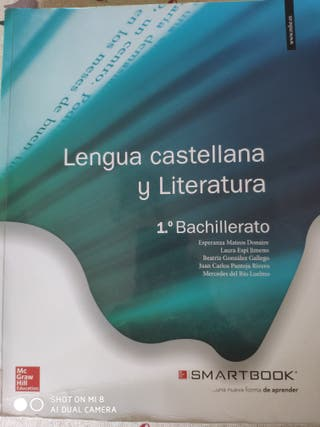 libro lengua y literatura 1 bachillerato.