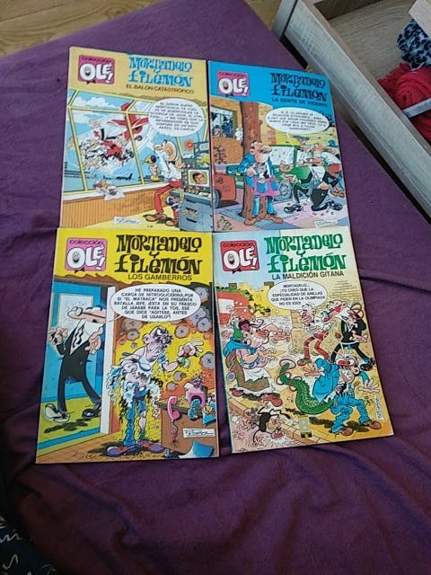 comics Mortadelo i filemon