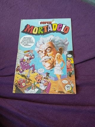 cómic super Mortadelo