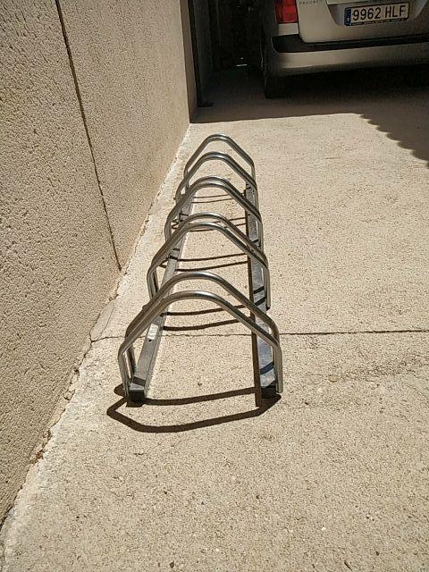 parking soporte bicicleta