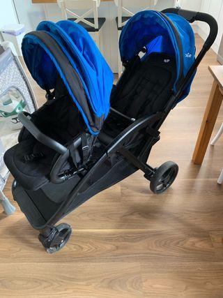 Carro-silla de paseo Evalite Duo de Joie