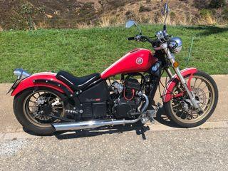 Moto Leonart daytona 125 CC
