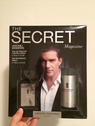 Colonia Antonio Banderas The Secret - NUEVA!
