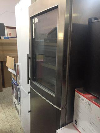 Cava de vino y congelador y Maquina de hielo