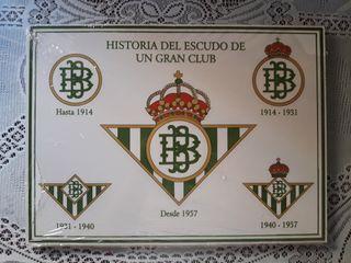 Azulejo de cerámica del Real Betis Balompié