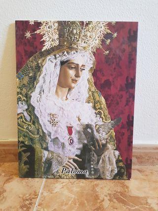 Azulejo Virgen de la Paloma (Málaga)