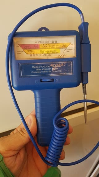 medidor de cloro y Ph