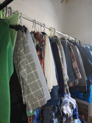 camisas de niño 6 mese a1 año precio negociable