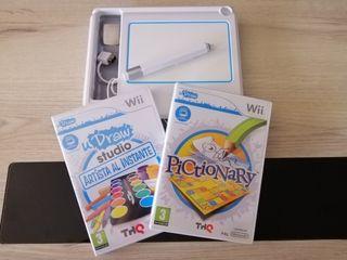Tablet UDraw Wii + UDraw Studio + Pictionary
