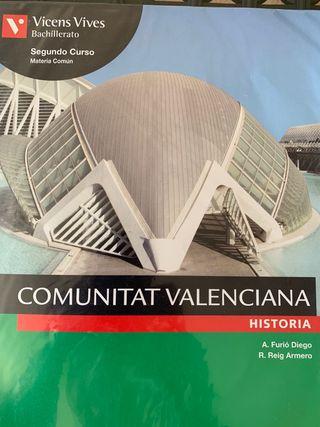 Historia comunitat valenciana