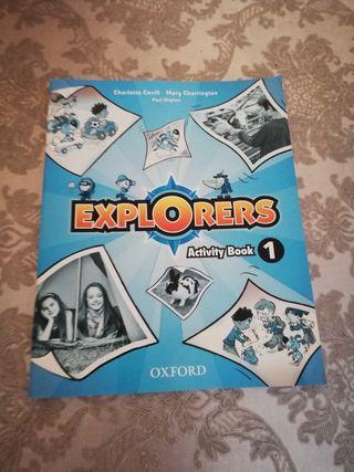 Libro de inglés Explorers de Oxford. Activity Book
