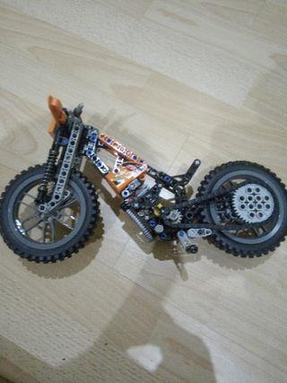 "Moto de juguete de ""motocross"""