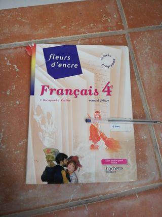 Libro Francés Fleurs d'Encre