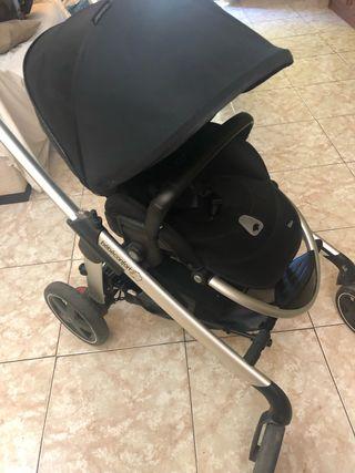 Cochecito+cuco+ proctector de Elea de Bebé Confort