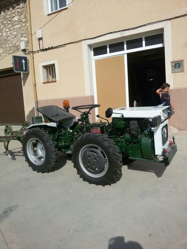 Tractor articulado 21cv