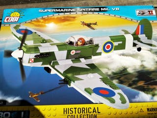 Cobi avión Spitfire MK V B