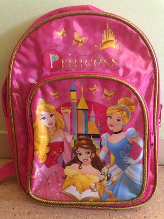 Mochila guardería princesas Disney