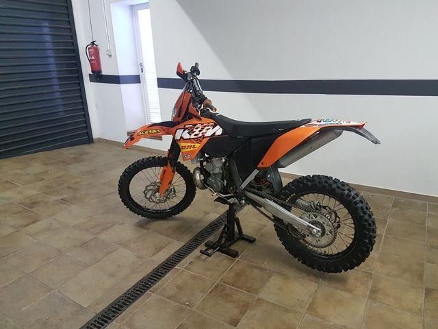 KTM 250 EXC 2008