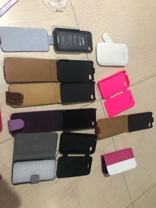 Pack carcasas iPhone 4/ 4s